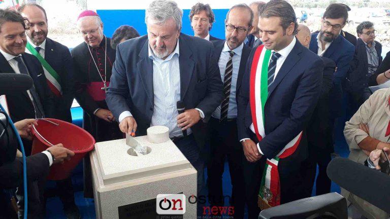 Nuovo ospedale Fasano-Monopoli: posta la prima pietra