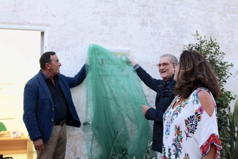 Inaugurato a Ostuni il Presidio informativo sulla Xylella fastidiosa