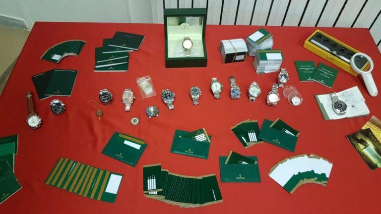 """Rolex falsi, chiusa l'indagine su """"Lo Scrigno"""": nove gli indagati a processo"""