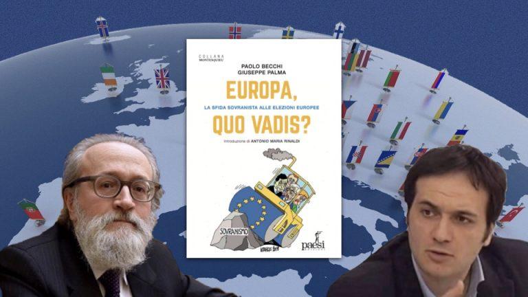 """Giuseppe Palma presenta a Ostuni il libro scritto con Paolo Becchi """"Europa, quo vadis?"""""""
