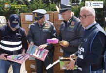 Ennesimo sequestro di merce contraffatta nel porto di Brindisi
