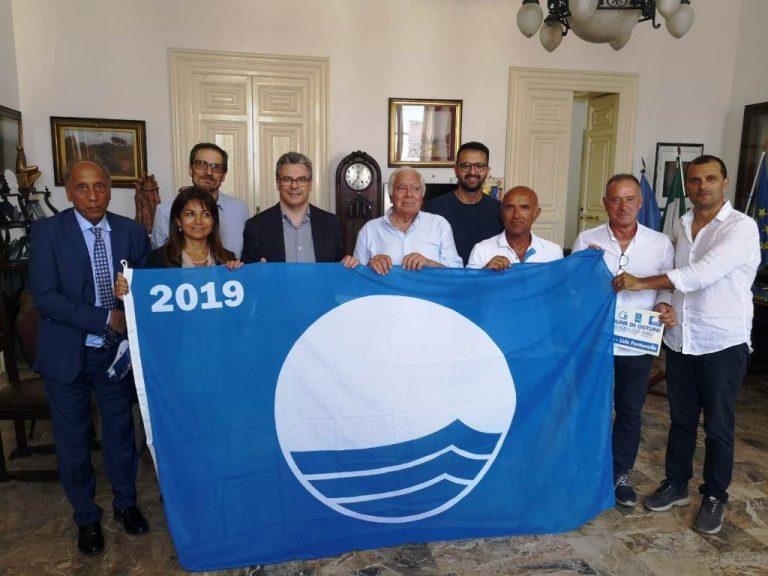 La Bandiera Blu 2019 sventola su sette lidi della costa ostunese