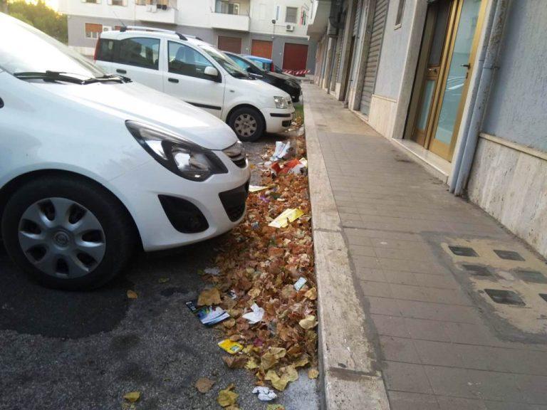 Cumuli di immondizia in via dei Fabbri: «Nessuno interviene, nonostante le segnalazioni». La denuncia di un cittadino ostunese
