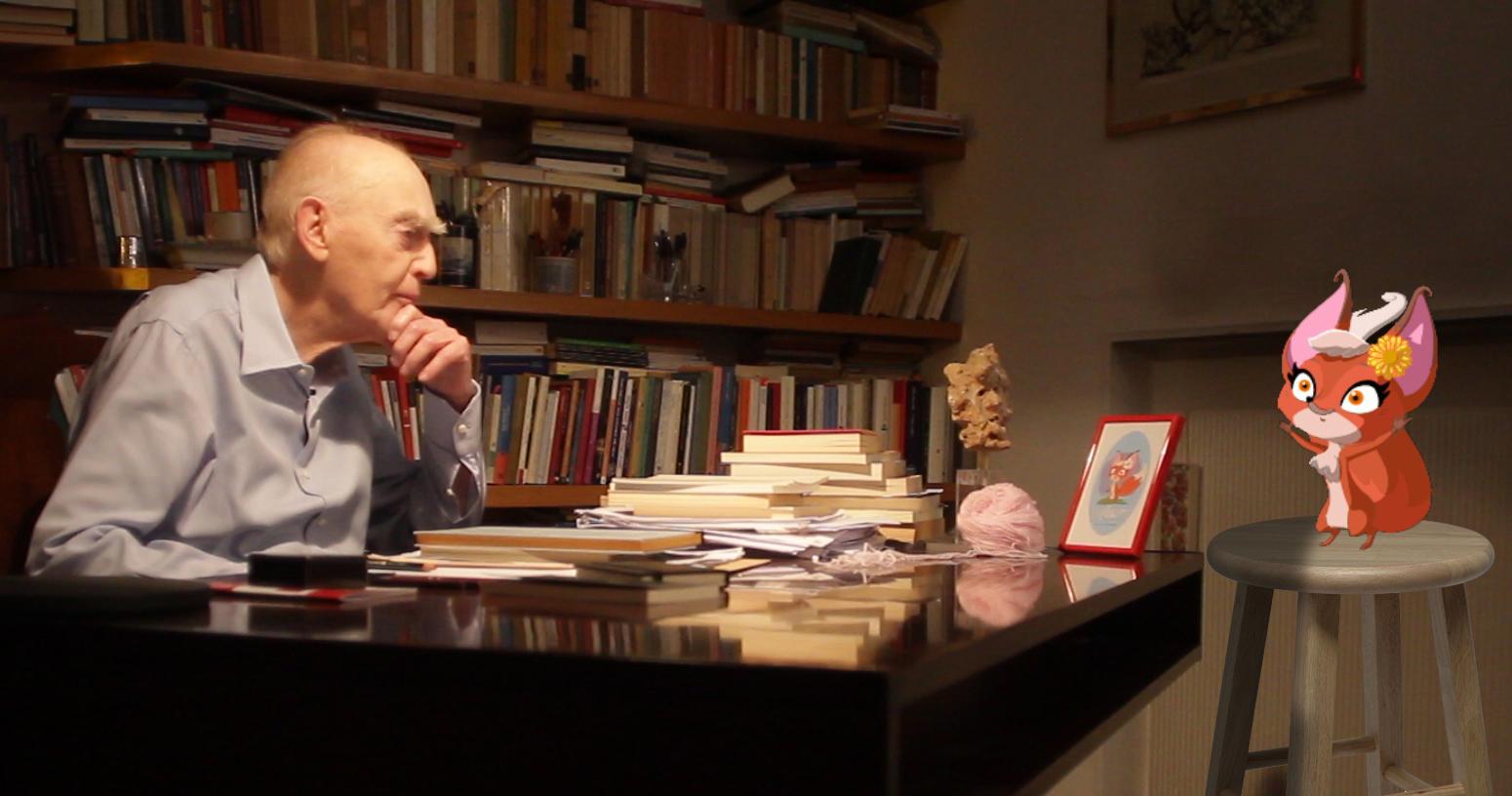 Unemozione chiamata libro: in scena la volpe sophia che filosofa