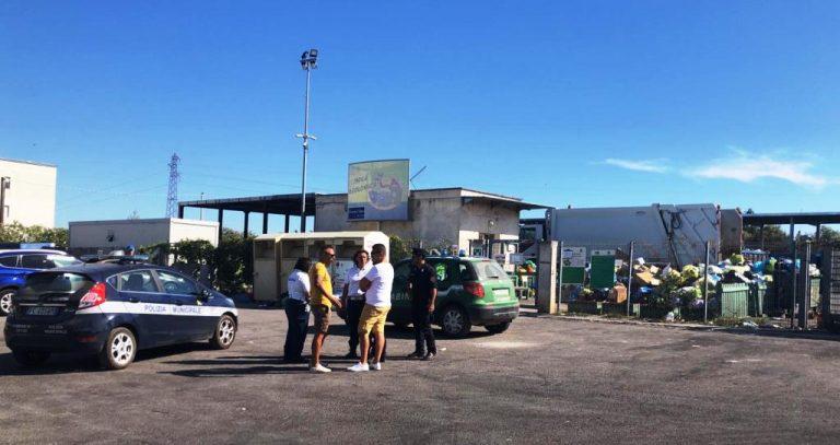Isola ecologica: risolte le criticità evidenziate, i Carabinieri del NOE annullano il sequestro preventivo