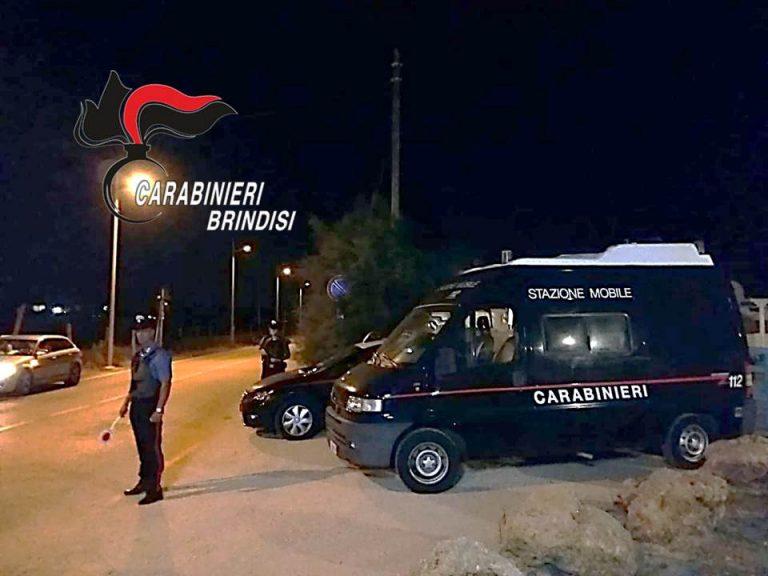 Ferragosto: l'esito dei controlli a tappeto dei Carabinieri nel brindisino