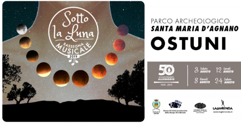 """Emozioni """"Sotto la Luna"""" al Parco archeologico di Santa Maria d'Agnano con la rassegna musicale targata """"La Ghironda"""""""