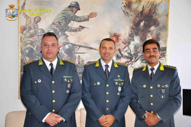Guardia di Finanza: si insediano i nuovi Comandanti di Brindisi e Ostuni