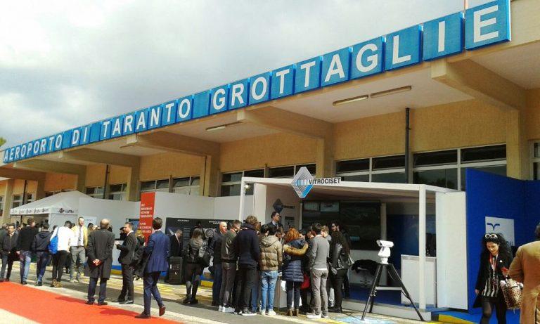 Aeroporto di Taranto – Grottaglie: avviati i lavori di riqualificazione e ampliamento della struttura