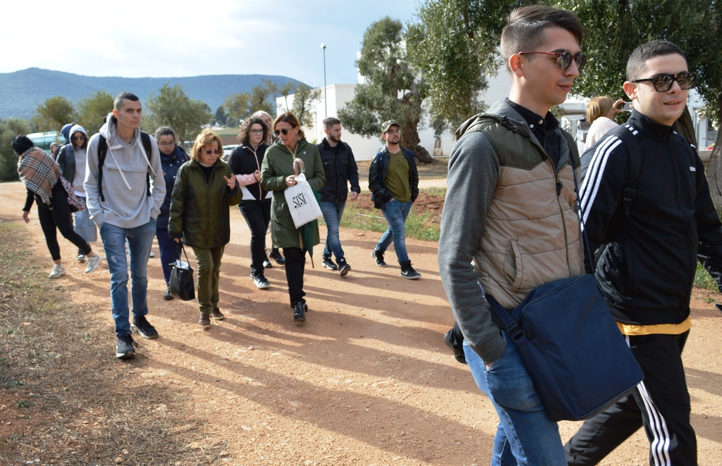 Studenti dell'Università del Salento in visita al Parco Dune Costiere - Ostuni News