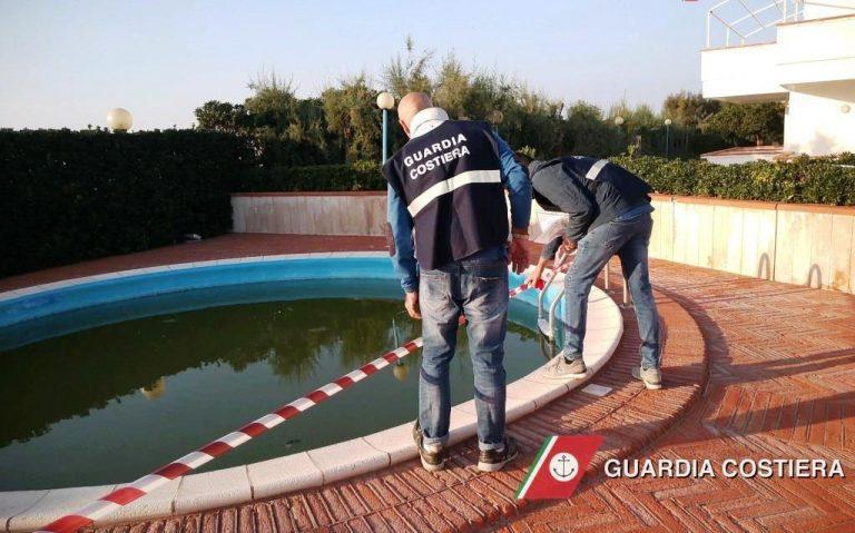 Villanova, piscine e teatrino abusivo in villaggio residenziale: la Guardia Costiera sequestra l'area