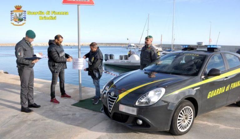 Porto di Savelletri, occupazione abusiva del braccio di levante: arrestato pluripregiudicato e indagati 11 ormeggiatori