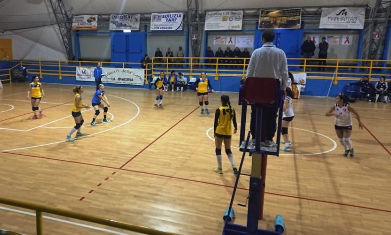 Torna sconfitta da Noicattaro la US Lighting Ostuni battuta dall'ASD Noha Volley per 3 – 1