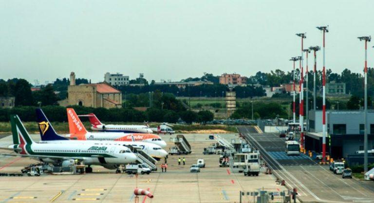 Aeroporto di Brindisi: operativi da giugno 2020 i voli diretti per Palermo e Catania
