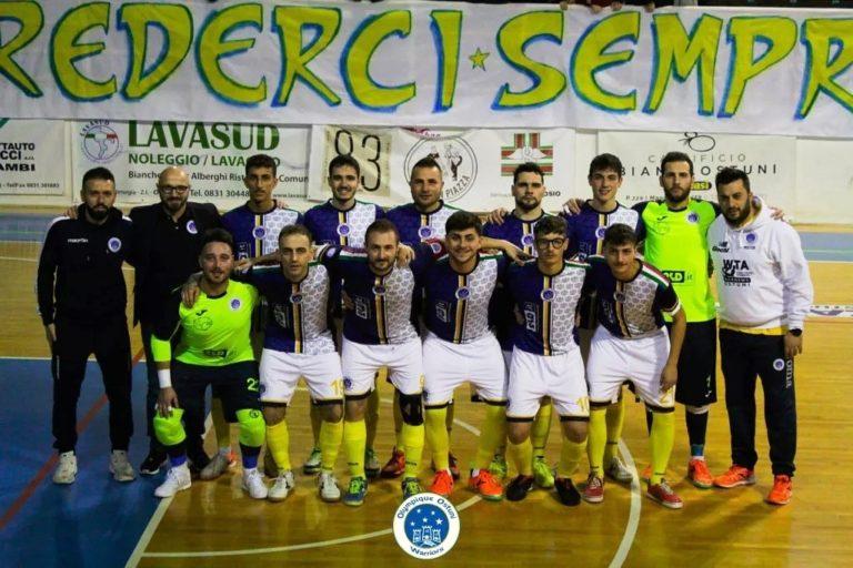 Olympique Ostuni vince in terra abruzzese e batte L'Aquila per 2 – 4