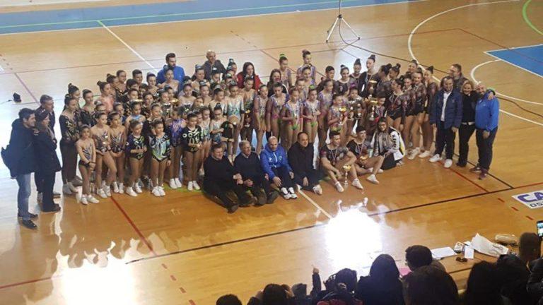 Campionati di ginnastica aerobica: brilla il Laboratorio del Benessere di Ostuni